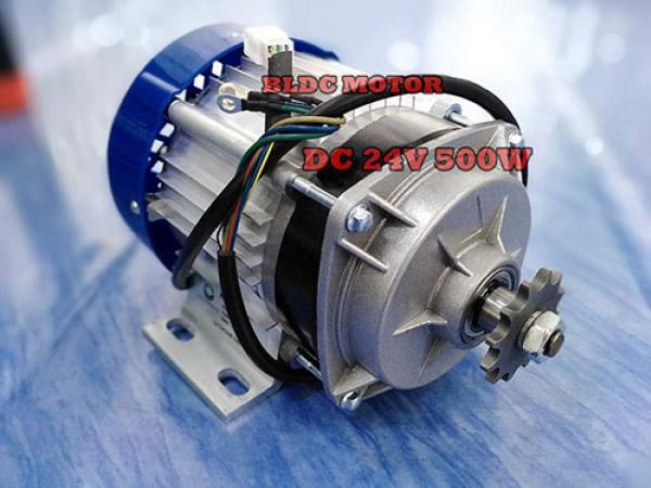 มอเตอร์บัสเลส DC Brushless DC motor คืออะไร
