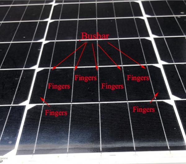 วิธีการดูว่าบัสบาร์ (Busbar) บนแผงโซล่าเซลล์ว่ามีจำนวนเท่าไร