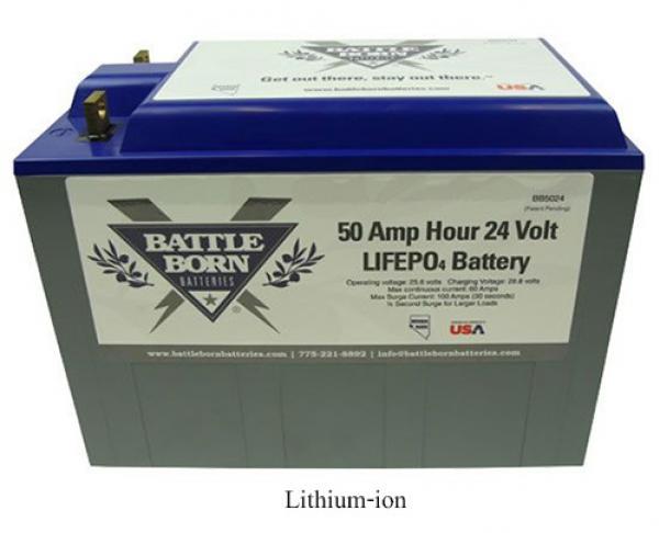 แบตเตอรี่โซล่าเซลล์ Deep Cycle Battery มีชนิดใดบ้าง